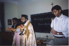FIRST ORTHODOX HOLY QURBANA IN NEPAL